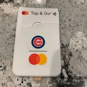 Cubs cell phone card holder